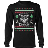 Bodybuilding Ugly Christmas Sweater - Vietees Shop Online