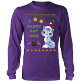 Ugly Christmas Sweater CatMas Hoodie - Vietees Shop Online