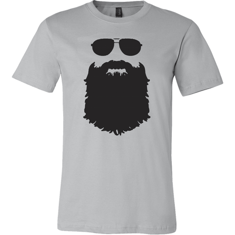 Aviator Glasses And Beard T-Shirt - Vietees Shop Online - 1