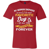 My German Shepherd Is Totally My Most Favorite Dog - Vietees Shop Online