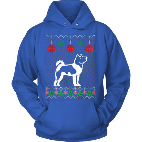 Akita Dog Ugly Christmas Sweater Xmas Hoodie - Vietees Shop Online