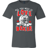 All You Need Is Love and a Boxer - Vietees Shop Online