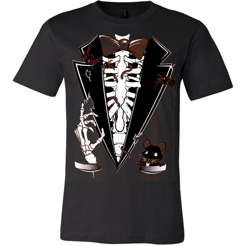 Buried Alive Halloween Tuxedo Men's T-Shirt - Vietees Shop Online