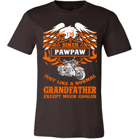 Biker Pawpaw Just Like a Normal Except Much Cooler