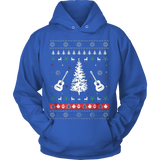 Country Music Ugly Christmas Sweater Hoodie - Vietees Shop Online