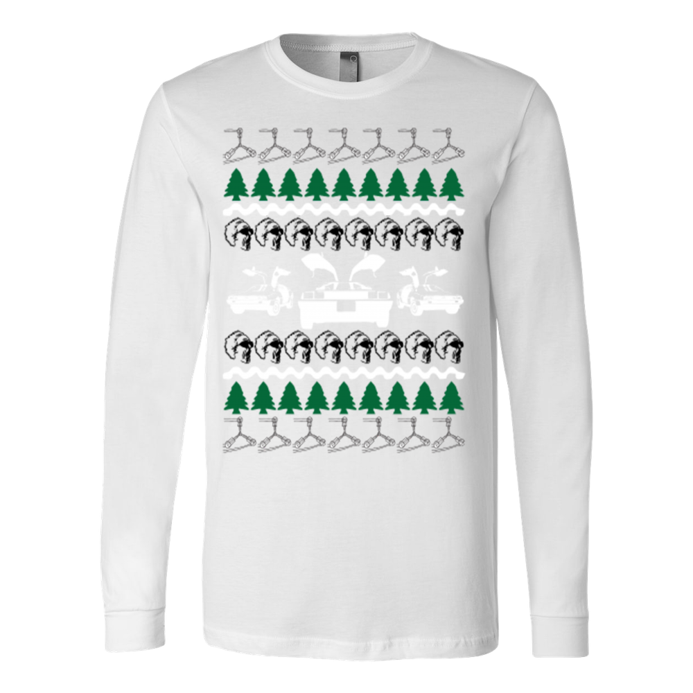 Back to the future ugly christmas sweater – Vietees Shop Online