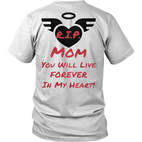 R.I.P. Mom Tees - Vietees Shop Online