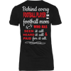 Image of Behind every Football Player - Vietees Shop Online