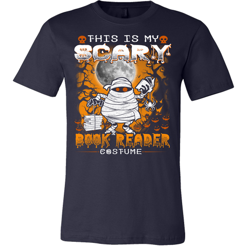 Halloween - This is my Scary Book Reader Costume T-shirt - Vietees Shop Online