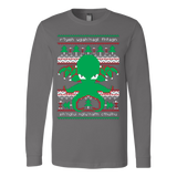 Cthulhu Cultist Christmas - Cthulhu Christmas Sweater - Ugly Sweatshirt - Vietees Shop Online