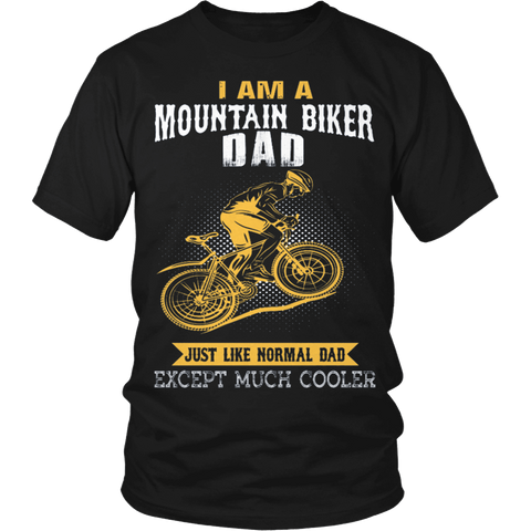 MOUNTAIN BIKER DAD - Vietees Shop Online