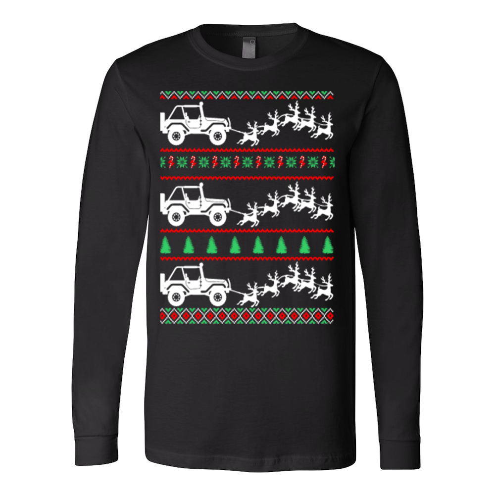 Jeep ugly christmas sweater - Vietees Shop Online