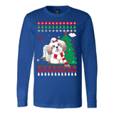 Christmas Ugly Sweater - SHIH TZU DOG - Vietees Shop Online - 5