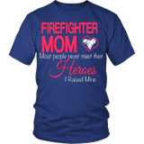 Firefighter Mom T-shirt - Vietees Shop Online