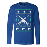 Assault Rifle Ugly Christmas Sweatshirt - Vietees Shop Online - 6