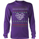 Vegan Ugly Christmas Sweatshirt - Vietees Shop Online
