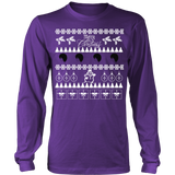 Natural hair ugly christmas sweater xmas - Vietees Shop Online