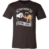 BULLMASTIFF BEST FRIEND FOR LIFE T-SHIRT - Vietees Shop Online