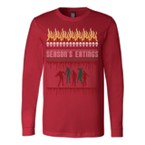 Zombie ugly christmas sweater - Vietees Shop Online - 6
