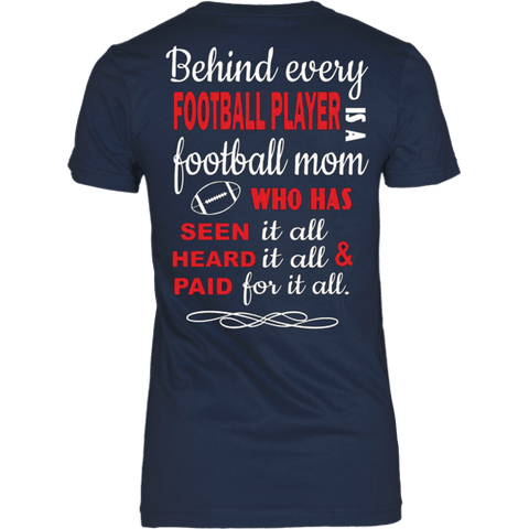 Behind every Football Player