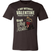 Image of A DAY WITHOUT VALENTINE T-SHIRT - Vietees Shop Online
