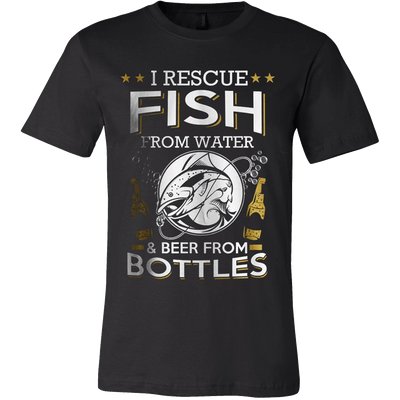 I RESCUE FISH & BEER - Vietees Shop Online