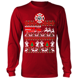 Firefighter christmas sweater ugly - Vietees Shop Online