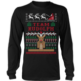 Rudolph ugly christmas sweater - Vietees Shop Online