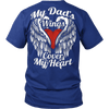 My Dad's Wings Cover My Heart - Vietees Shop Online