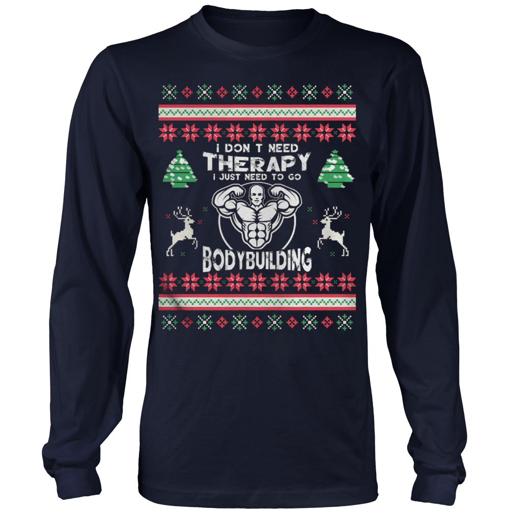 Bodybuilding Ugly Christmas Sweater – Vietees Shop Online