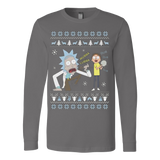 Dub Dub Rick and Morty Ugly Sweatshirt Christmas - Vietees Shop Online