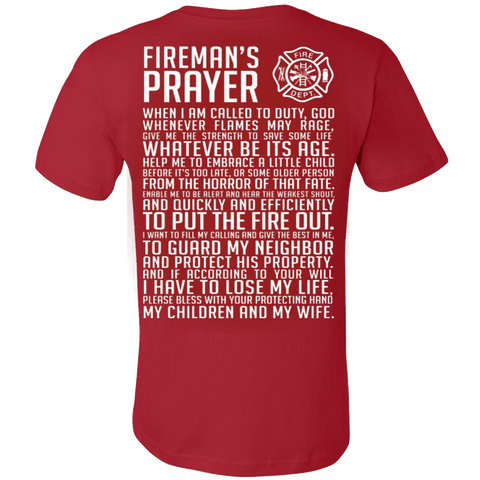 FIREMAN'S PRAYER - Vietees Shop Online