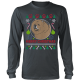 Chow Chow Dog Breed Ugly Christmas Sweater Hoodie - Vietees Shop Online - 9