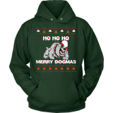 Ugly Christmas Sweater DogMas Hoodie - Vietees Shop Online