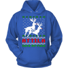Image of Attila Ugly Christmas Sweater Hoodie - Vietees Shop Online