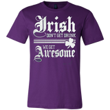 IRISH DON'T GET DRUNK T-SHIRT - Vietees Shop Online