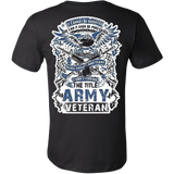 THE TITLE ARMY VETERAN - Vietees Shop Online