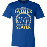 Never Underestimate a Father who listens to SLAYER T-shirt - Vietees Shop Online