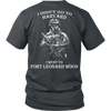 Image of I didn't go to Harvard I went to Fort Leonard Wood T shirt - Vietees Shop Online