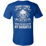 When you mess with my daughter - Vietees Shop Online