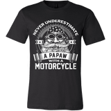 Never Underestimate a Papaw with a Motorcycle - Vietees Shop Online