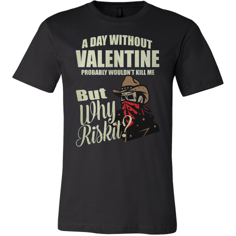 A DAY WITHOUT VALENTINE T-SHIRT - Vietees Shop Online - 1