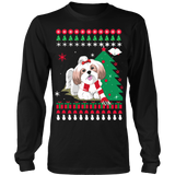 Christmas Ugly Sweater - SHIH TZU DOG - Vietees Shop Online - 8