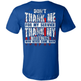 DON'T THANK ME FOR MY SERVICE - Vietees Shop Online