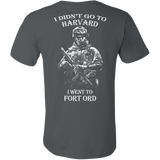 I didn't go to Harvard I went to Fort Ord T-shirt - Vietees Shop Online