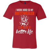 I Work Hard So My Rottweiler Can Have a Better Life - Vietees Shop Online
