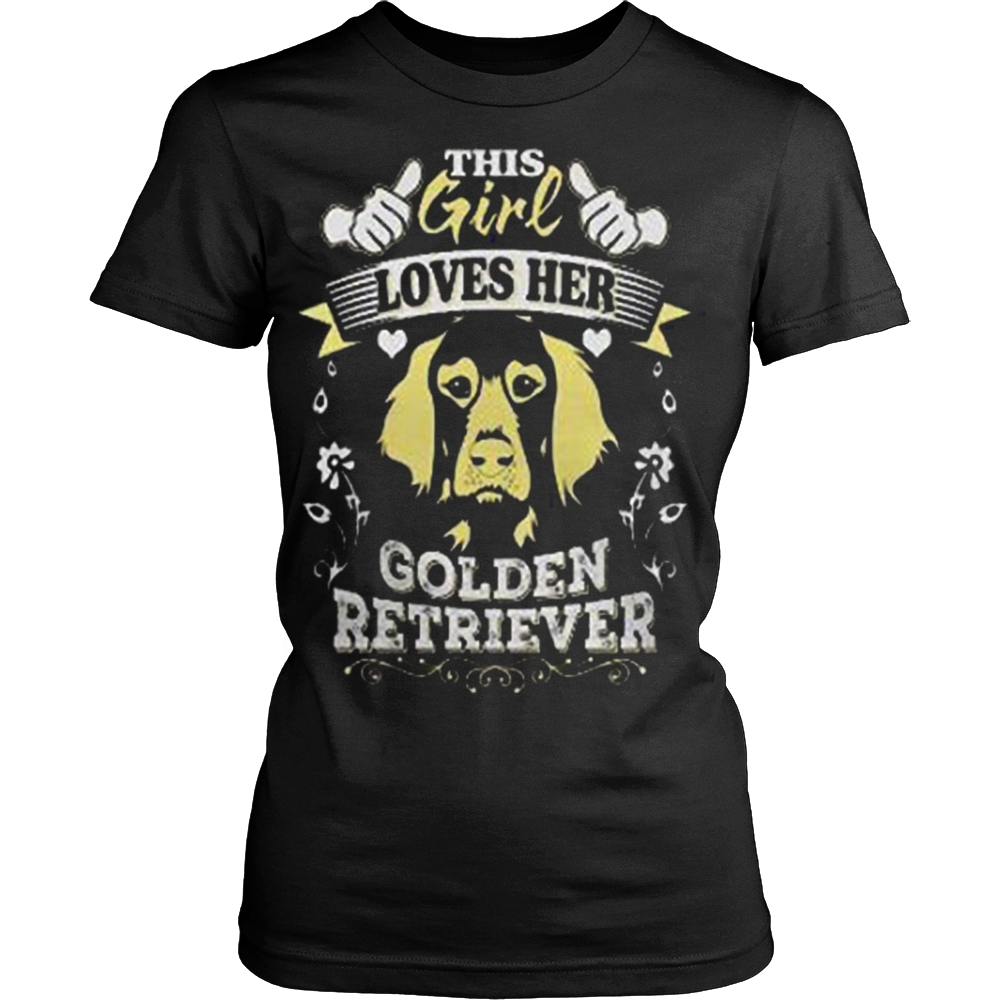 THIS GIRL LOVES HER GOLDEN RETRIEVER - Vietees Shop Online