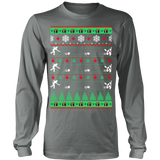 Bowlers bowling christmas ugly sweater - Vietees Shop Online - 10
