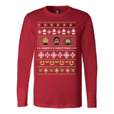 Happy Christmas ugly sweater - Vietees Shop Online - 6