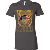 THIS GIRL IS PROTECTED BY A MARINE - Vietees Shop Online